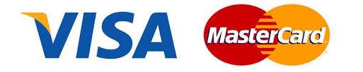 Documento legal términos y condiciones logo Visa y MasterCard